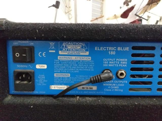Amplificador - Ashdown Electric Blue 180 - Foto 3