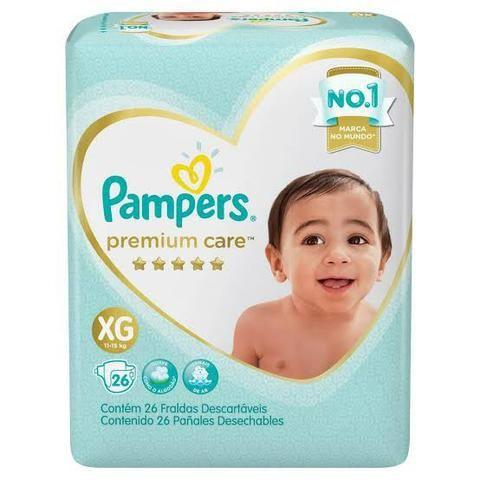 Fralda Pampers Supreme Care XG