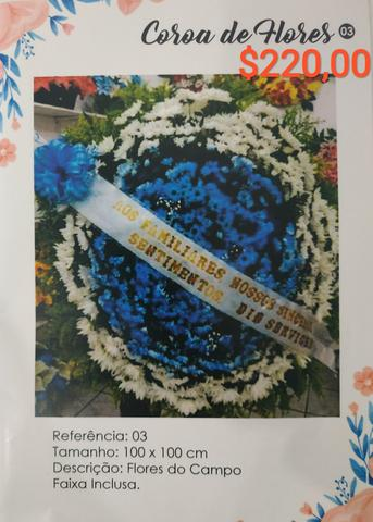 Coroas funebres - Foto 4