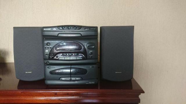 Mini System Sharp com CD