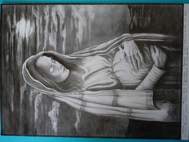 Obra de arte no grafite - Foto 6