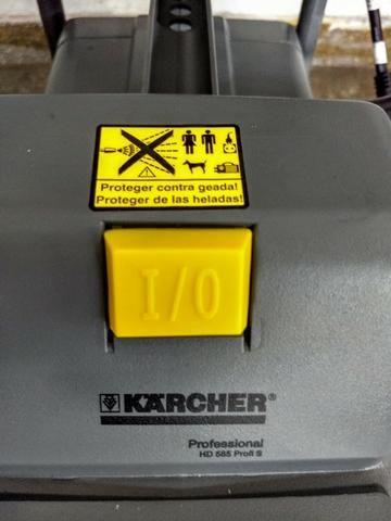 Bomba de Lavar HD 585 Profissional - Karcher - 127V - Foto 5