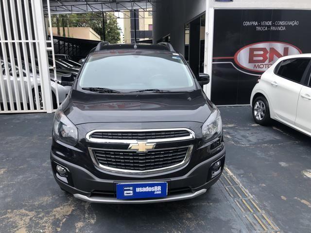 Chevrolet Spin 1.8 Active 8V Preto 2016