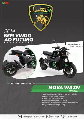 Moto scooter patinete elétrica promoção - Foto 2