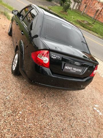 Fiesta sedan 1.6 flex completo 10/10 banco em couro - Foto 14