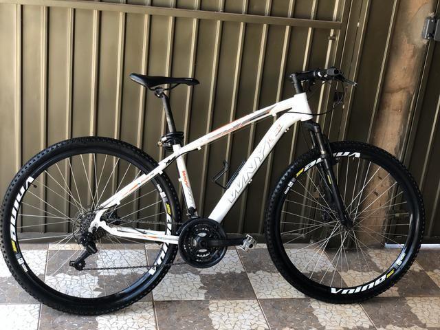 Bike bicicleta aro 29 freio a disco amortecedor