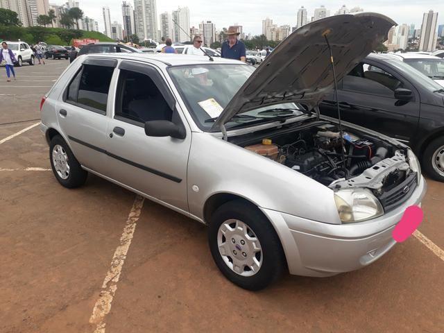 """Fiesta Class 1.0 8v Relíquia """" completo-direção """" super conservado - 2004 - Foto 3"""