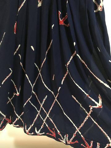 Vestido Azul marinheiro tam p $25 - Foto 3