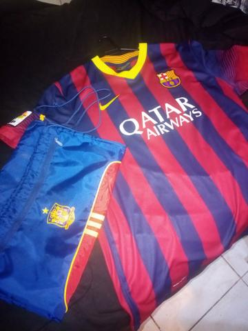 Kit camiseta + bolsa barcelona - Foto 3