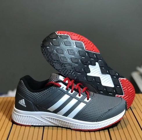 11bdf2022f7 Tênis Adidas Masculino Duramo Lite 2.0 - Cinza e Branco - Roupas e ...