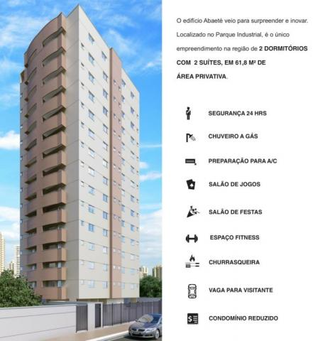 Apartamento à venda com 2 dormitórios em Parque industrial, São josé dos campos cod:AP3174 - Foto 12