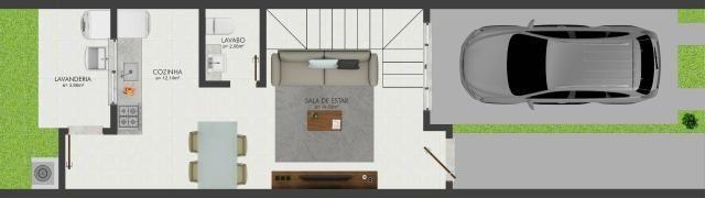 Excelente sobrado de dois dormitórios em Potecas São José - Foto 3