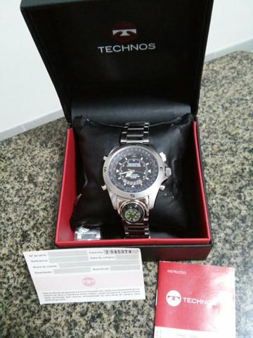 Relógio Technos Chronoalarm - Bijouterias, relógios e acessórios ... 4898ee34b8