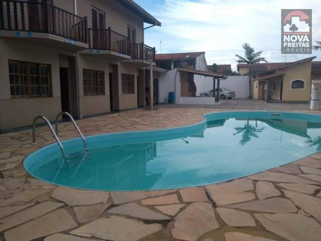 Casa à venda com 2 dormitórios em Pontal de santa marina, Caraguatatuba cod:SO1257