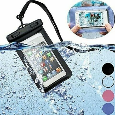 Bolsa para celular/smartphone impermeável prova d'água