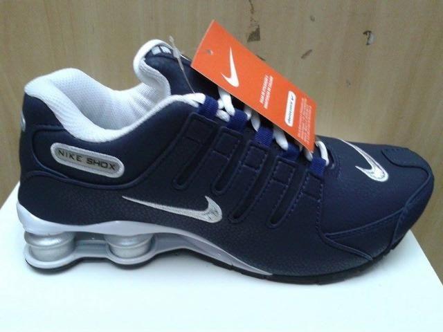 low priced 322f3 ab1a1 Tênis Nike Shox 4 Molas NZ - Top Promoção - Masculino Feminino - Foto 2