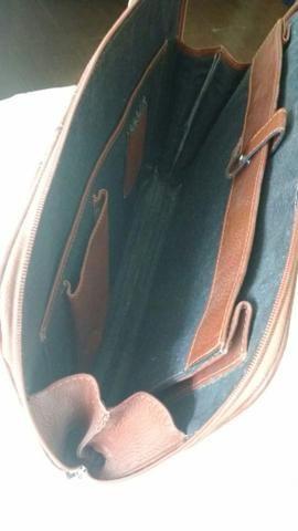 4cdfd3b23 Bolsa / Pasta em couro legítimo - linda peça - Bolsas, malas e ...