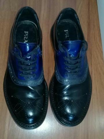 e11c6eeee Sapato prada original de couro - Roupas e calçados - Jardim Russo ...
