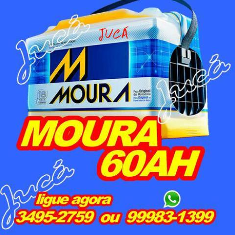 Bateria moura e zetta 60 ah com ofertas mega especiais!!!