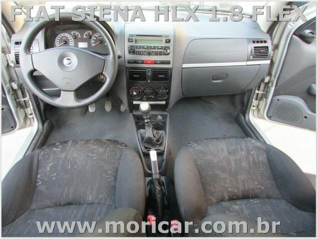 Fiat Siena Hlx 1.8 Flex - Ano 2006 - Bem Conservada - Foto 4