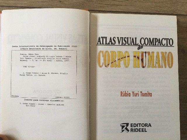 Atlas Visual compacto corpo humano capa dura livro novo R$45,00 C. Frio - Foto 5
