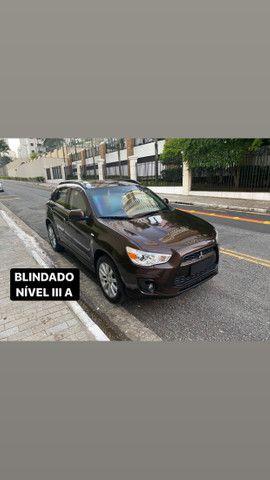 Mitsubishi ASX 2016 Blindado Nível 3 A Vidros AGP