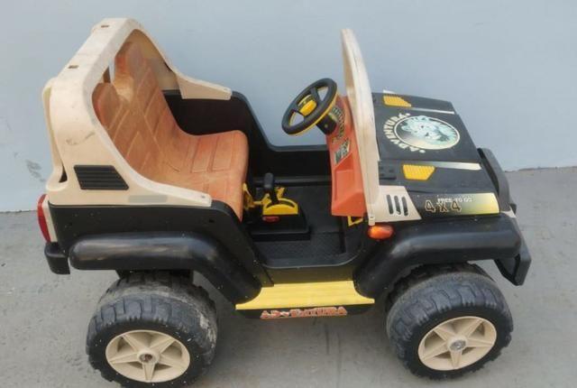 Carrinho jeep eletrica perego - Foto 2