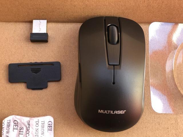 Teclado e Mouse sem Fio wireless Multilaser Novo - Foto 3