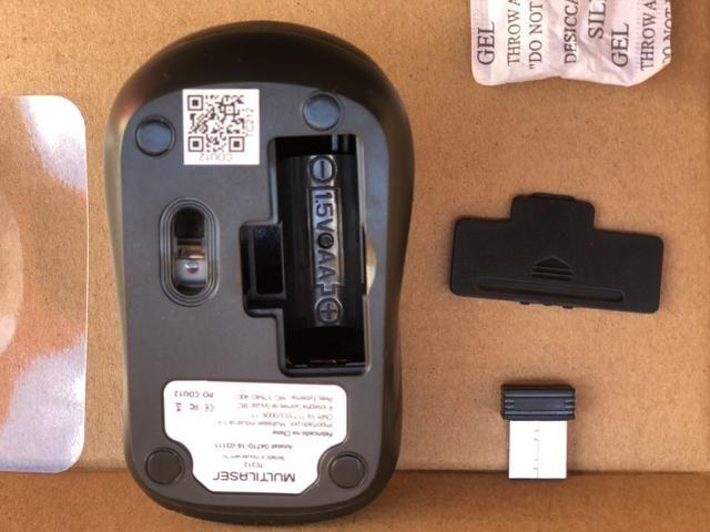 Teclado e Mouse sem Fio wireless Multilaser Novo - Foto 2