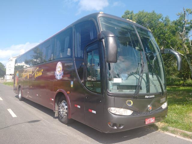 Ônibus volvo B7R 2005/06 Marcopolo 1200 - Foto 3