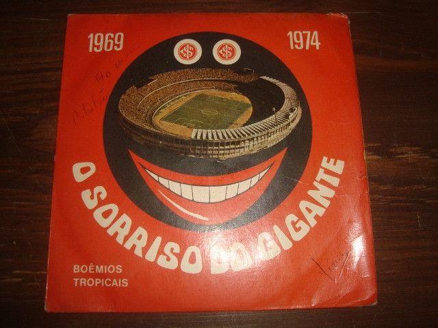 Internacional, Futebol, 1969 - 1974, Compacto disco vinil Inter, O Sorriso do Gigante
