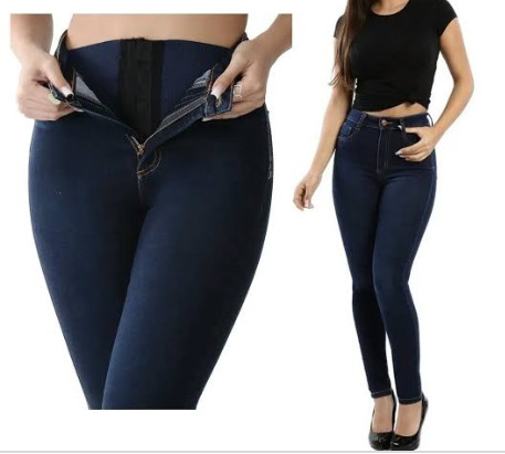 Calça Jeans Chapa barriga - Foto 3