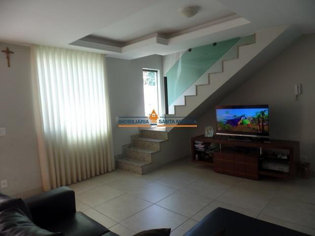 Casa à venda com 4 dormitórios em Santa mônica, Belo horizonte cod:16501 - Foto 3