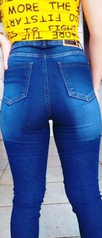 Calça Jeans Chapa barriga - Foto 6