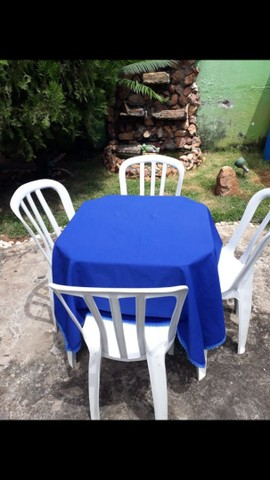 Mesas e cadeiras (LOCAÇÃO) - Foto 3