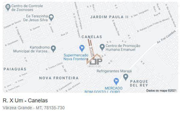 Casa com 4 dormitórios à venda, 222 m² por R$ 167.960,00 - Jardim Paula II - Várzea Grande - Foto 3