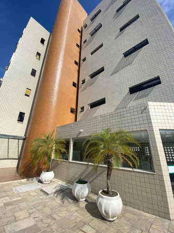 Apartamento com 3 dormitórios para alugar, 101 m²- Manaíra - João Pessoa/PB