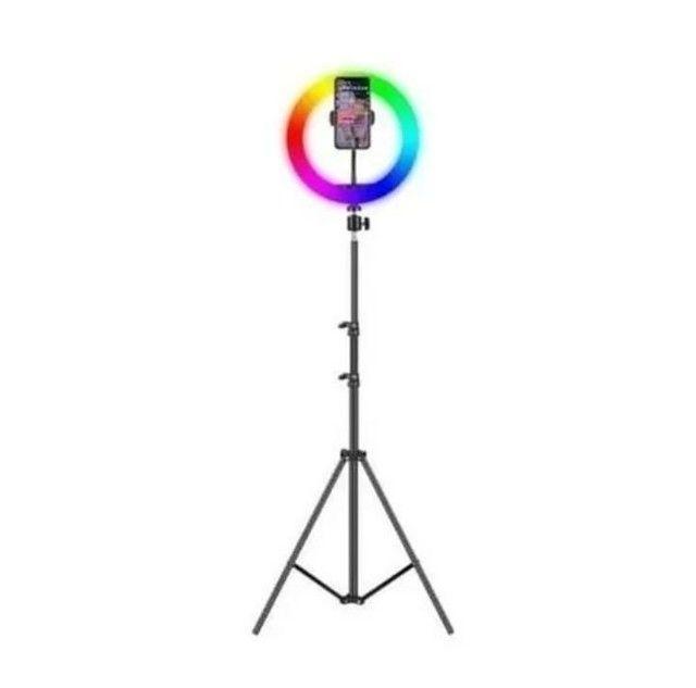 Ring light colorida de 12' polegada  - Foto 4