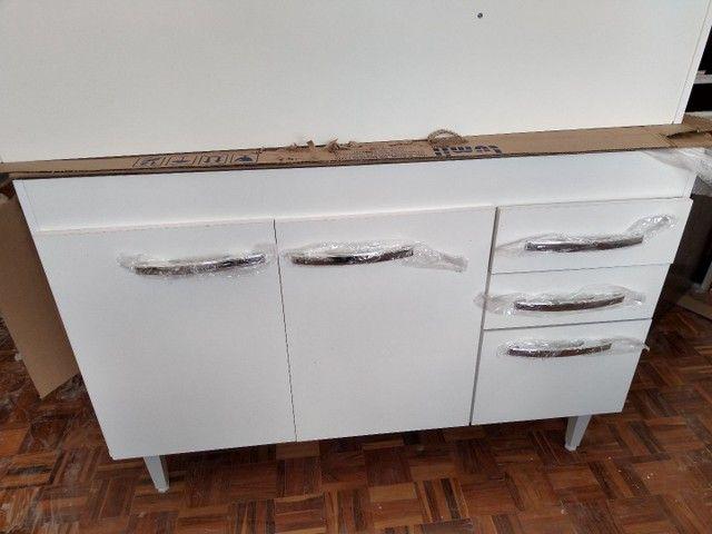 Armário Aereo e Balcao Cozinha MDP 1.20m - Foto 6