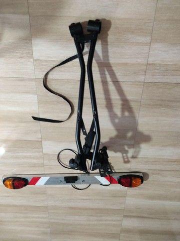 Transbike thule + régua sinalizadora - Foto 2