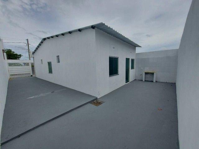 Linda casa, excelente espaço, 9x20, 3 quartos, entrega imediata  - Foto 3