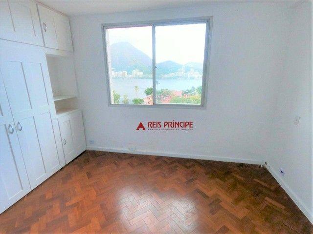 Apartamento com 2 dormitórios para alugar, 84 m² por R$ 5.300,00/mês - Lagoa - Rio de Jane - Foto 15