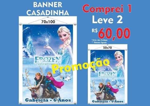 Banner Casadinha, Compre 1 e leve 2 - Grafica Rápida Mcopiarte Serviços e Importados