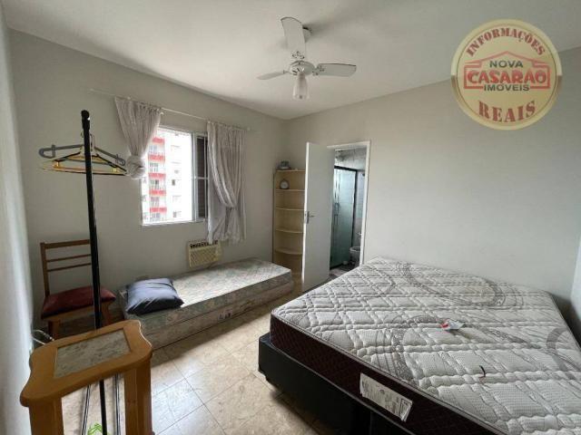 Apartamento com 2 dormitórios à venda, 72 m² por R$ 330.000 - Guilhermina - Praia Grande/S - Foto 14