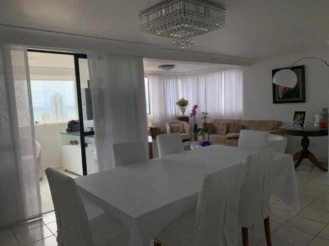 Apartamento em Boa Viagem, lindo, com 3 quartos, 2 vagas e vista mar. - Foto 8
