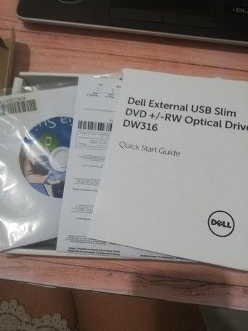 Dell External USB Slim dvd+/rw Optical Drive DW 316 - Foto 3