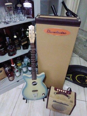 Guitarra Acústica Danelectro(Rara no Brasil)