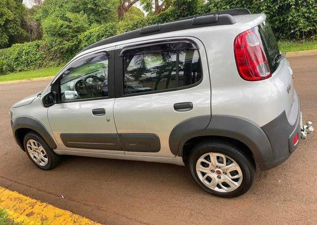 Fiat Uno 1.0 Way Flex (parcelamos) - Foto 4