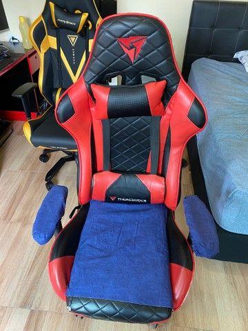 Cadeira Gamer ThunderRx3 - marcas de uso - Foto 6