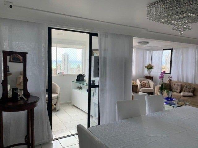 Apartamento em Boa Viagem, lindo, com 3 quartos, 2 vagas e vista mar. - Foto 4